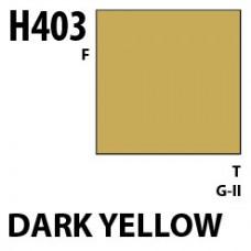 H403 Dark Yellow Aqueous Hobby 10 ml. boja