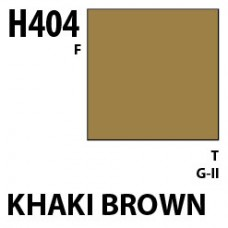 H404 Khaki Brown Aqueous Hobby 10 ml. boja