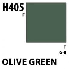 H405 Olive Green Aqueous Hobby 10 ml. boja