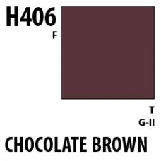 H406 Chocolate Brown Aqueous Hobby 10 ml. boja