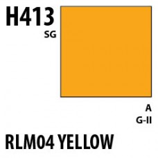 H413 RLM04 Yellow Aqueous Hobby 10 ml. boja