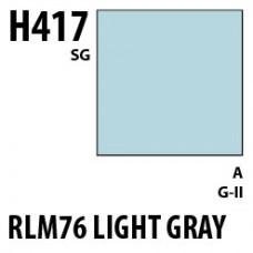 H417 RLM76 Light Blue Aqueous Hobby 10 ml. boja