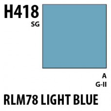 H418 RLM78 Light Blue Aqueous Hobby 10 ml. boja