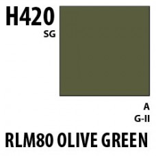 RLM80 Olive Green Aqueous Hobby 10 ml. boja