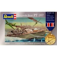 U.S. Navy Torpedo Boat PT 167 1:72