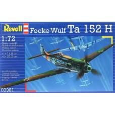 Focke Wulf Ta 152 H 1/72