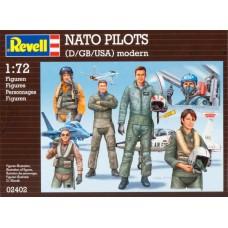 Combat Pilots (D/GB/USA) modern 1:72