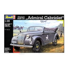 "German Staff Car ""Admiral Cabriolet"" 1:35"