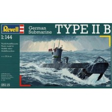German Submarine Type IIB 1/144