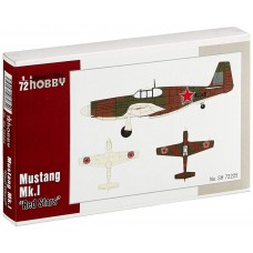 Mustang Mk.I Red Star 1/72
