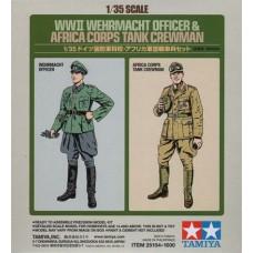 1/35 WWII Wehrmacht Officer & Africa Corps Tank Crewman (2-Figure Set)