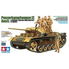 1/35 Pz.kpfw.3 L w/Rommel&DAK Crew