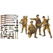 1/35 WWI British Infantry w/Small Arms & Equipment