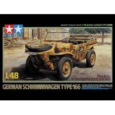 1/48 German Schwimmwagen Type 166 Pkw K2s