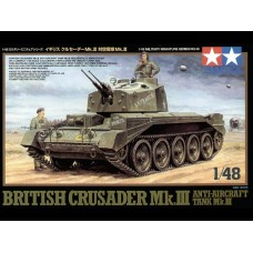 1/48 British Crusader Mk.III w/ 4 figures