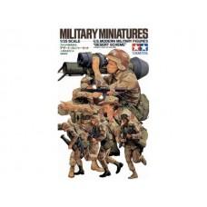 "1/35 U.S. Modern Military Figures ""Desert Scheme"""