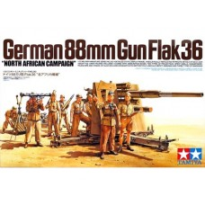 1/35 88mm Gun flak35 North Africa