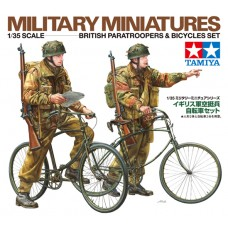 1/35 British Paratroopers & Bicycle set