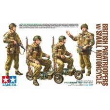 1/35 British Paratroopers with Small Motorcycle
