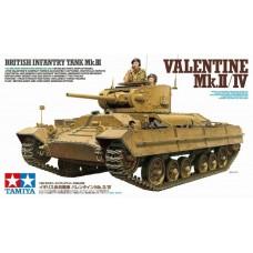 1/35 British Infantry Tank VALENTINE Mk.II/IV