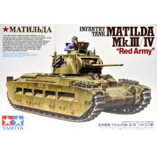 1/35 Infantry Tank Matilda Mk III/IV Red Army