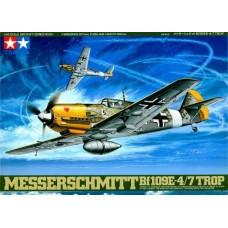1/48 MESSERSCHMITT BF109E 4/7 TROP