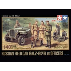 1/48 GAZ-67B w/officers oo