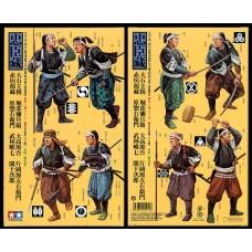 1/35 Samurai warriors