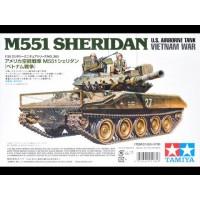 1/35 U.S. M551 Sheridan (Vietnam) with Crew
