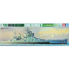 HMS King George V 1/700
