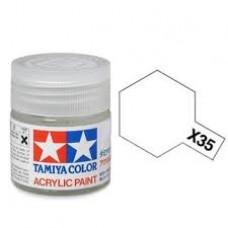 Akrilna boja Tamiya 10ml. Semi Gloss Clear X-35
