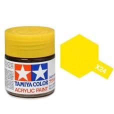 Akrilna boja Tamiya 10ml. Clear Yellow  X-24