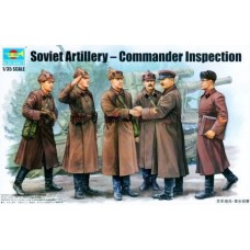 Soviet Artillery Commander Inspection 1:35