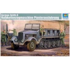 German Sd.Kfz.6 Halbk.zugm. Pionierausf.