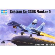 SU-33 UB Flanker D 1/72