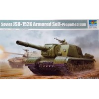 1/35 Soviet JSU-152K Armored Self-Propelled Gun