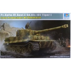 1/35 Pz.Kpfw.VI Ausf.E Sd.Kfz.181 Tiger I Late production with/Zimmerit