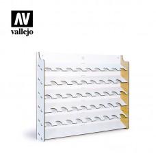 Vallejo polica za boje zidna