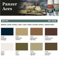 Nº 2 Panzer Aces 17ml. 1/8