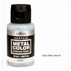 657 Gloss Metal Varnish 35ml. Akrilni lak