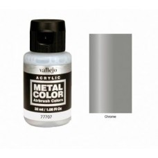 707 Chrome Metal Color 35ml. Akrilna Boja