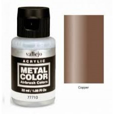 710 Cooper Metal Color 35ml. Akrilna Boja