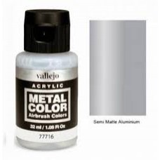 716 Semi Matte Aluminium Metal Color 35ml. Akrilna Boja