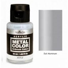 717 Dull Aluminium Metal Color 35ml. Akrilna Boja