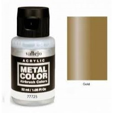 725 Gold Metal Color 35ml. Akrilna Boja
