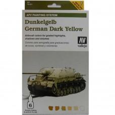 German Dark Yellow AFV Armour Paint System 8ml. Akrilna boja