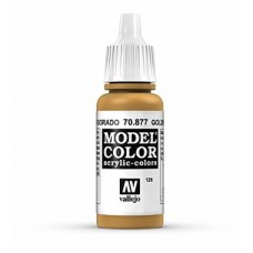 126 Goldbrown 17ml. MC Akrilna boja