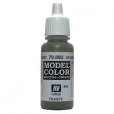 095 US Dark green 17ml. MC Akrilna boja