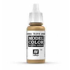 119 Green Ochre 17ml. MC Akrilna boja