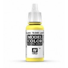 10 Light Yellow 17ml. MC Akrilna boja